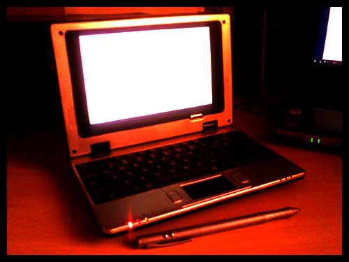 the letux 400 laptop